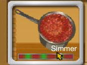 لعبة المأكولات الإيطالية
