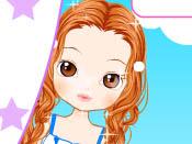 لعبة قص شعر الفتاة الشيك