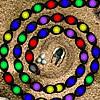 لعبة الأحجار الملونة