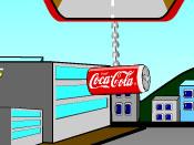 لعبة شاحنة كوكاكولا