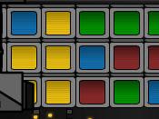لعبة تفجير المربعات الملونة