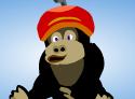 الغوريلا والقرد